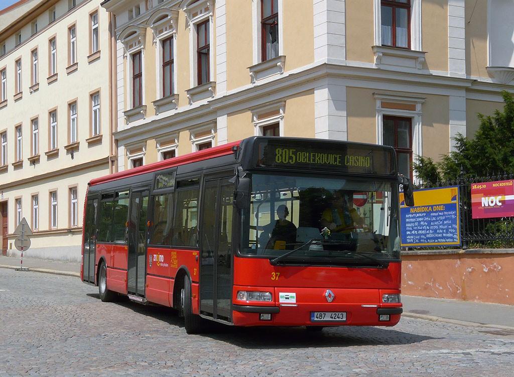 Fotogalerie » Irisbus Citybus 12M 4B7 4243 37 | Znojmo | Rudoleckého