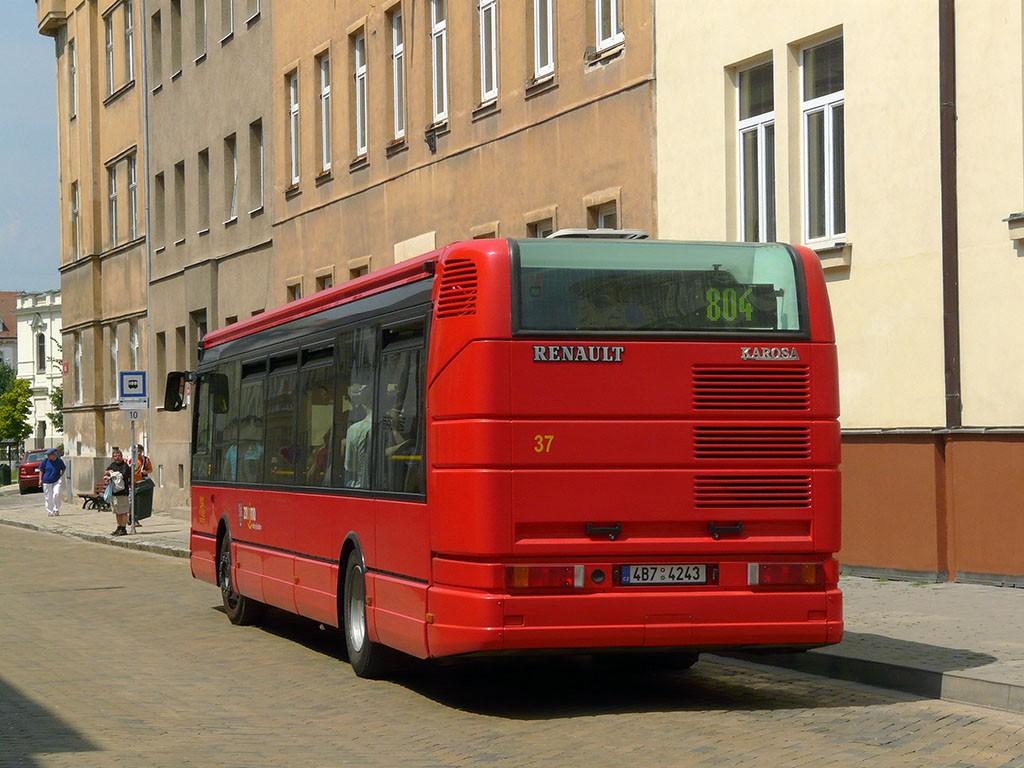 Fotogalerie » Irisbus Citybus 12M 4B7 4243 37 | Znojmo | Lidická | Dr. Horákové
