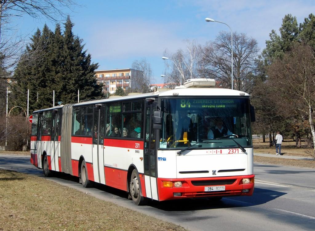 Fotogalerie » Karosa B961E.1970 2B4 9311 2371 | Brno | Lesná | Okružní