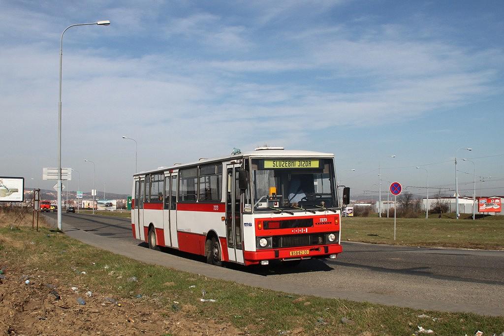 Fotogalerie » Karosa B732.40 BSB 62-30 7273   Brno   Slatina   Olomoucká   u AAA auto