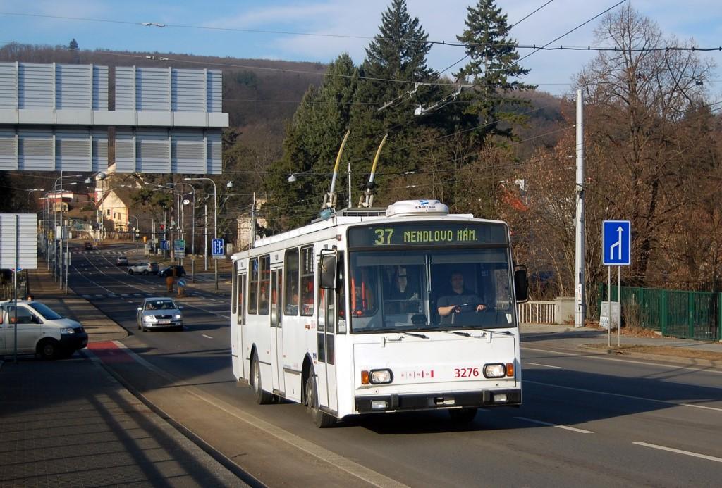 Fotogalerie » Škoda 14TrR 3276 | Brno | Pisárky | Pisárecká