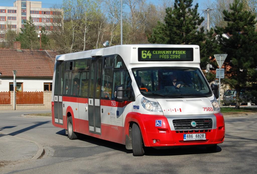 Fotogalerie » MAVE-Fiat CiBus ENA MAXI 6B6 6828 7503 | Brno | Maloměřice | Jarní | Zimní I.