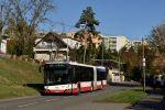 Vůz Solaris Urbino 18 IV 2667 z loňské dodávky na lince 50