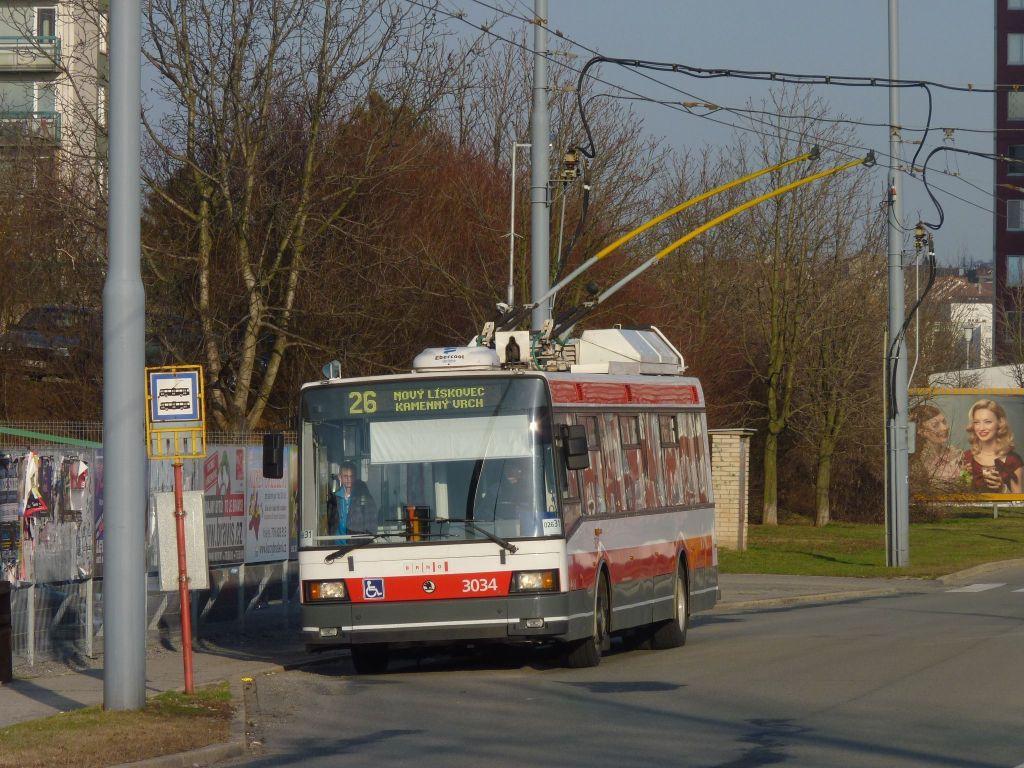 Fotogalerie » Škoda 21Tr 3034 | Brno | Vinohrady | Věstonická | Bořetická