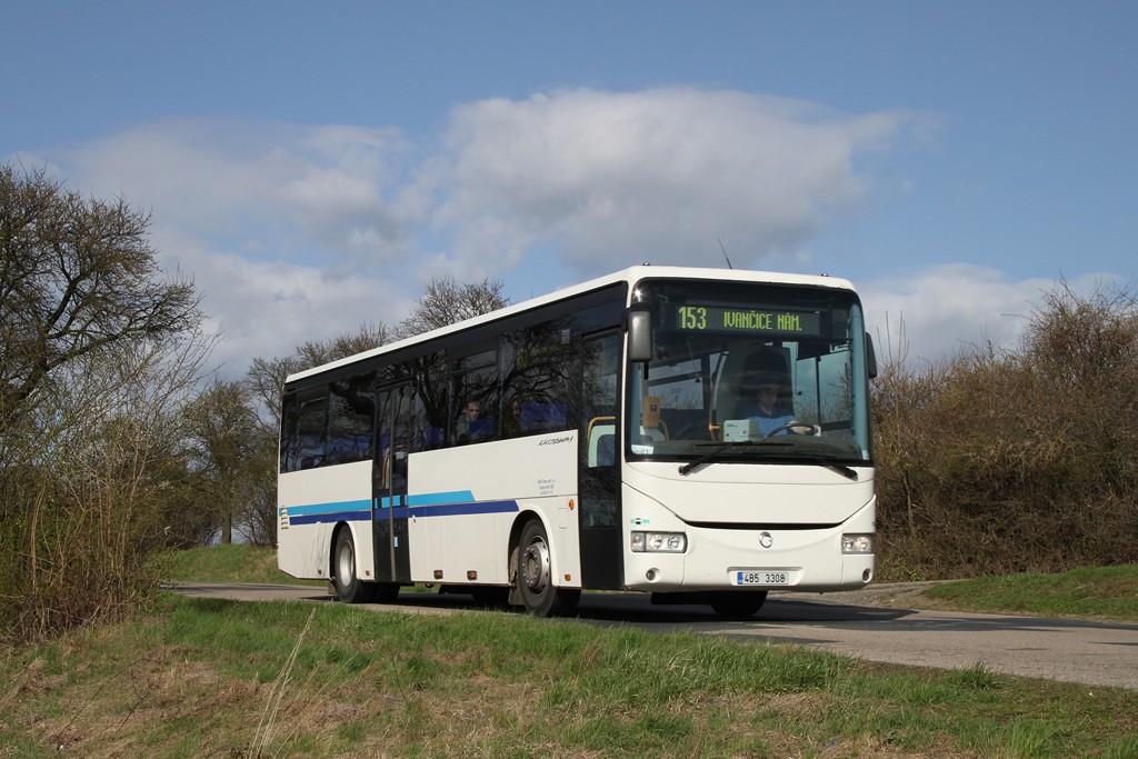 Fotogalerie » Irisbus Crossway 12M 4B5 3308 | Zbýšov | Sička | Zbýšov, Sička