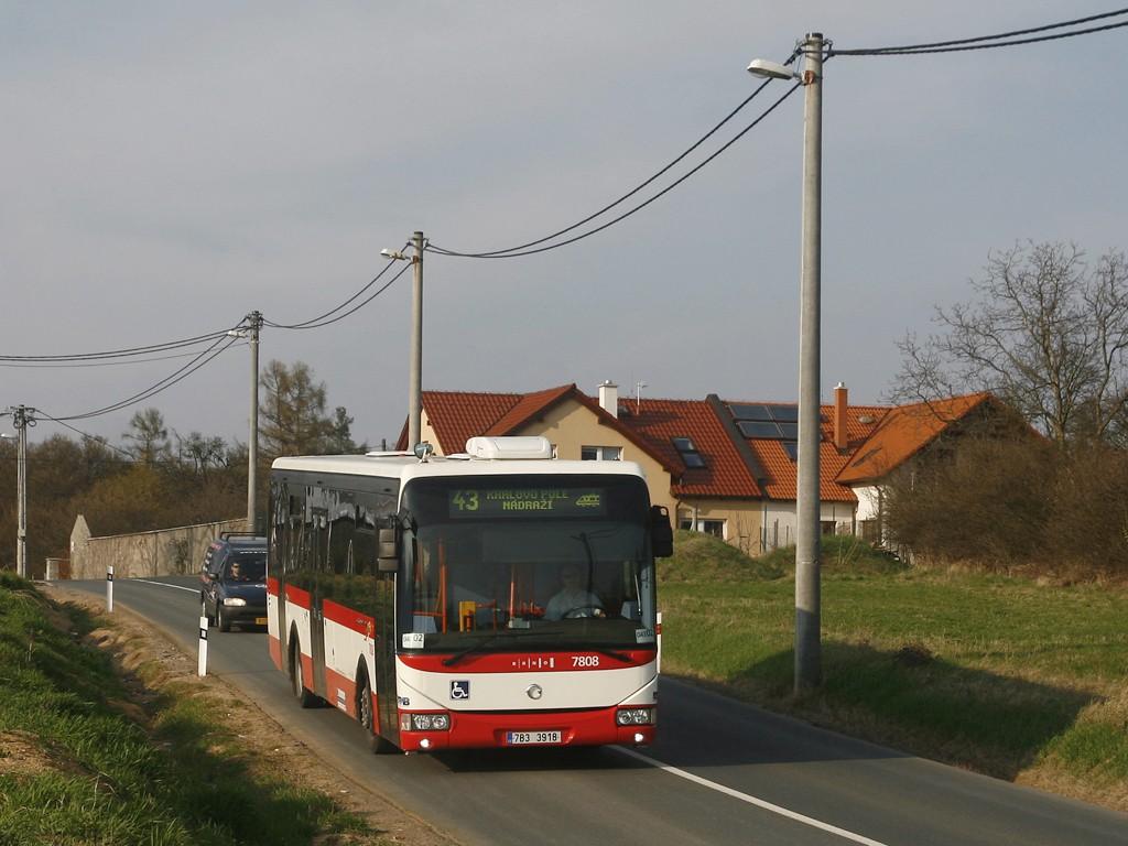 Fotogalerie » Irisbus Crossway LE 12M 7B3 3918 7808   Brno   Sadová   Kociánka   Na kopcích