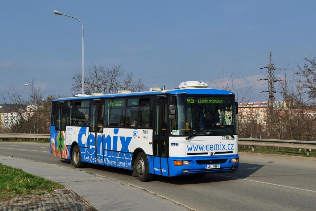 Fotogalerie » Karosa B951E.1713 4B4 5965 7490 | Brno | Líšeň | Křtinská