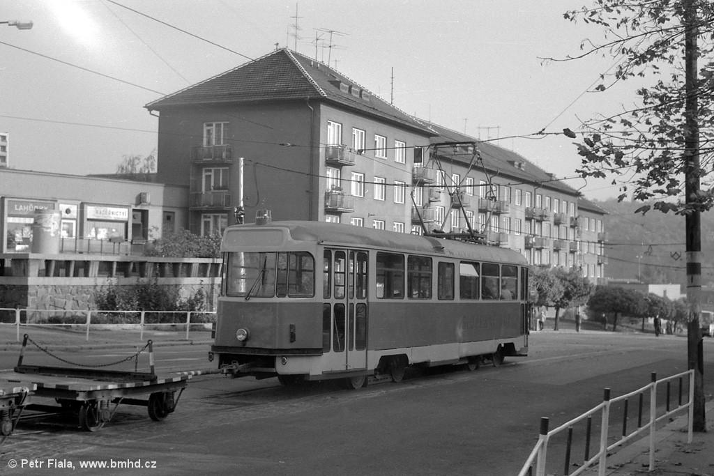Fotogalerie » Tatra T2 služební 4120 | Brno | Královo Pole | Kosmova