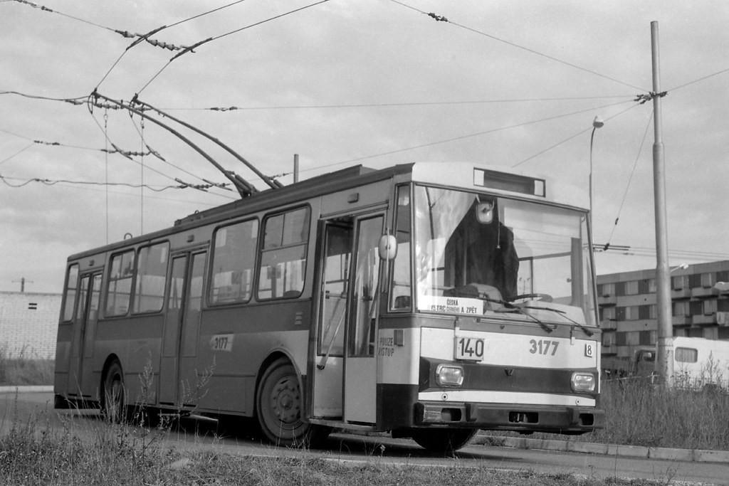 Fotogalerie » Škoda 14Tr01 3177 | Brno | Bystrc | Černého | Černého