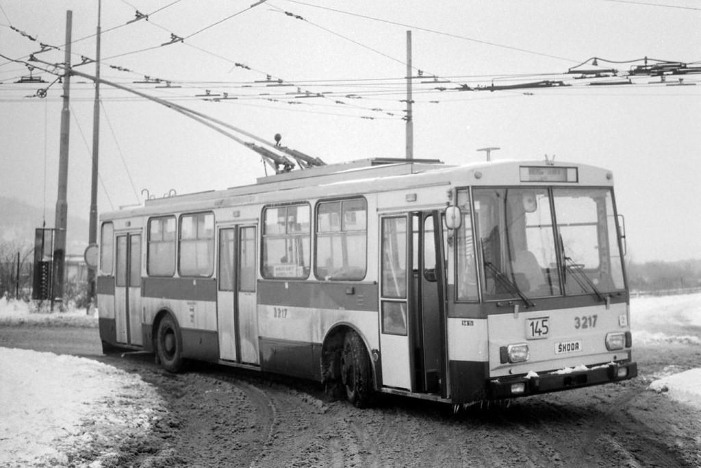 Fotogalerie » Škoda 14Tr08/6 3217 | Brno | Bohunice | Netroufalky