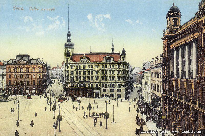 Fotogalerie » | Brno | střed | náměstí Svobody | Náměstí Svobody
