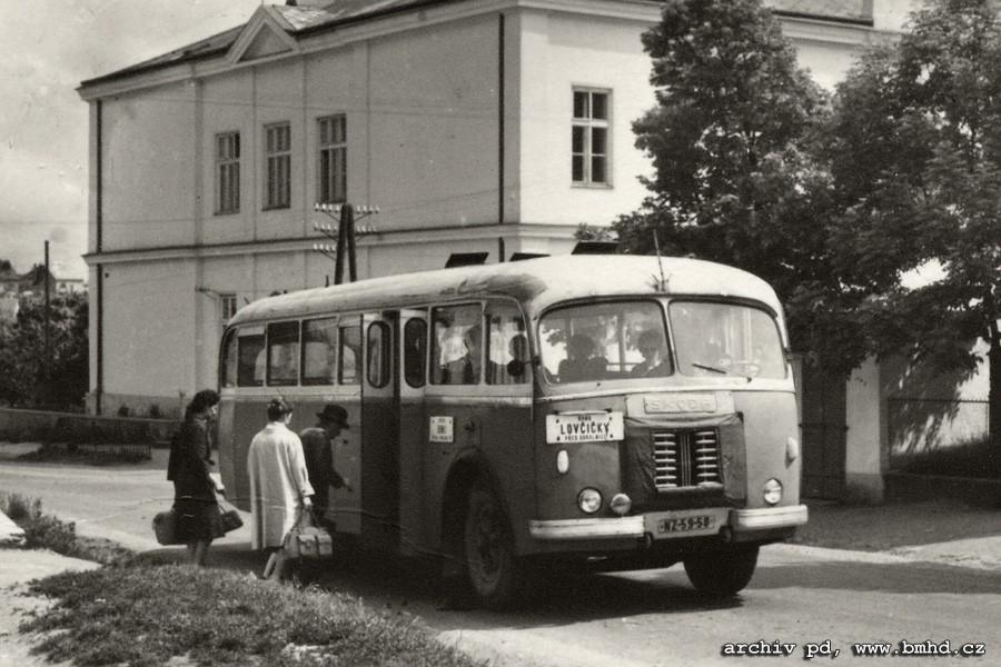 Fotogalerie » Škoda 706 RO NZ 59-58   Sokolnice