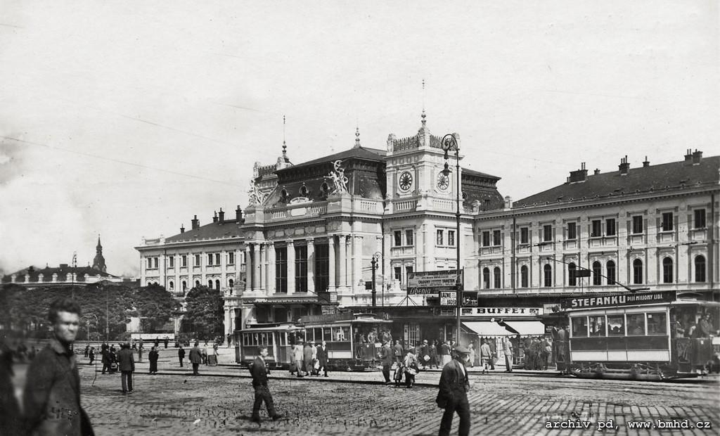Fotogalerie » Graz mv1 19 | Graz mv1 21 | Brno | střed | Nádražní | Hlavní nádraží