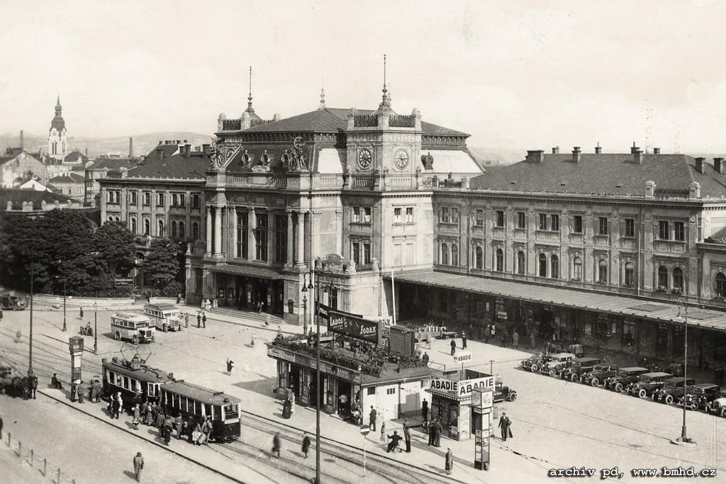 Fotogalerie » KPS Brno vv2.kps 252 | Brno | střed | Nádražní | Hlavní nádraží