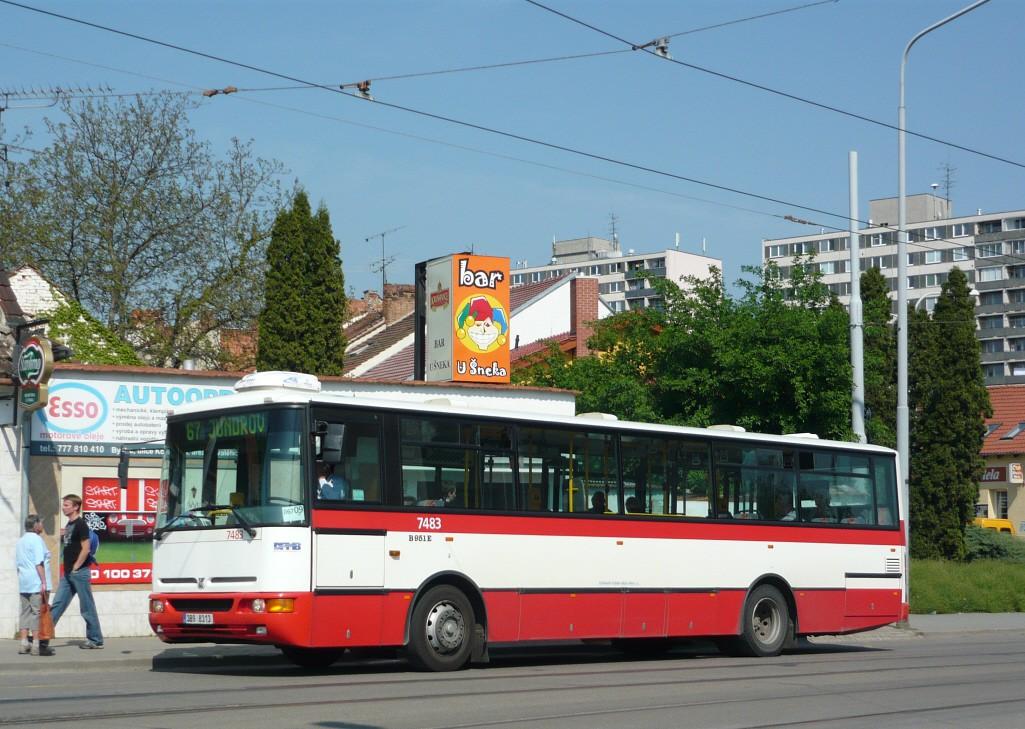 Fotogalerie » Karosa B951E.1713 7483 | Brno | Žabovřesky | Sochorova | Rosického náměstí