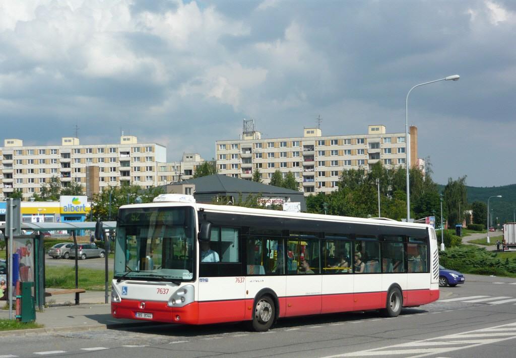 Fotogalerie » Irisbus Citelis 12M 7637 | Brno | Bystrc | Vejrostova | Ečerova