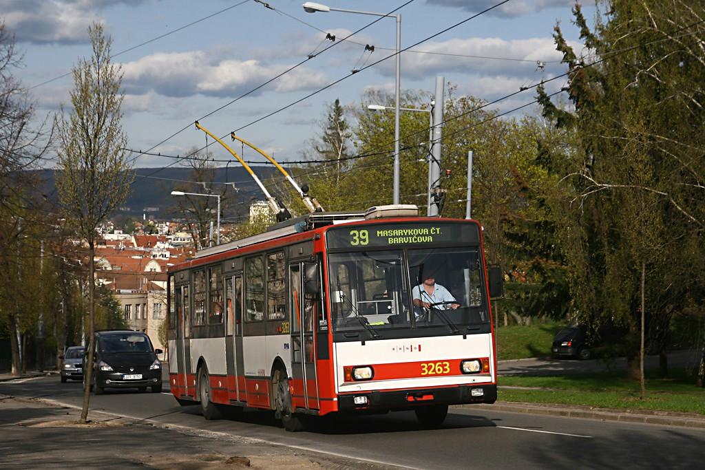 Fotogalerie » Škoda 14TrR 3263 | Brno | Masarykova čtvrť | Tvrdého