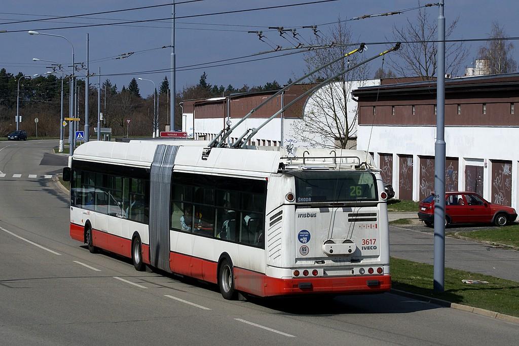 Fotogalerie » Škoda 25Tr Citelis 1B 3617 | Brno | Vinohrady | Věstonická