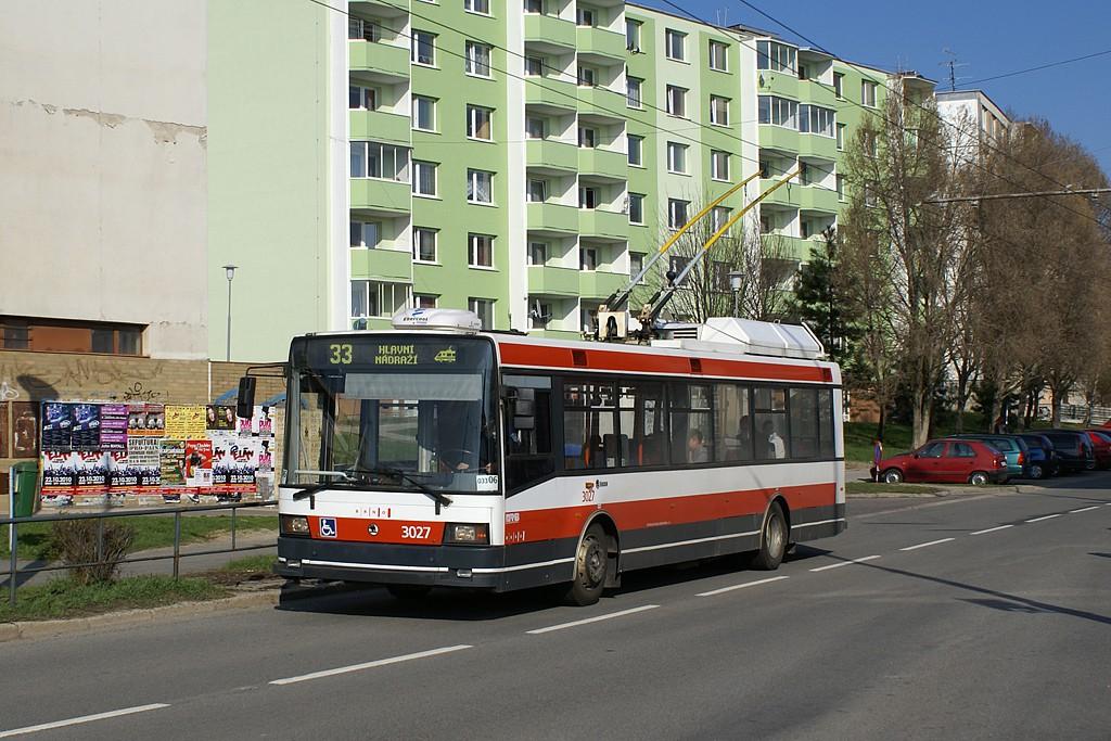 Fotogalerie » Škoda 21Tr 3027 | Brno | Slatina | Zlínská