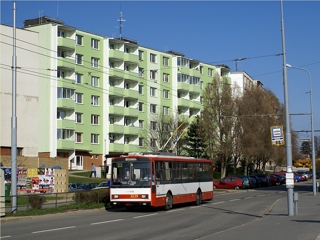 Fotogalerie » Škoda 14Tr08/6 3229 | Brno | Slatina | Zlínská