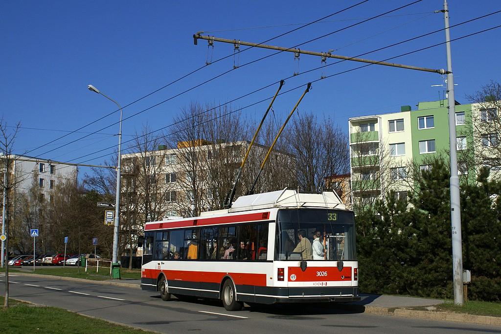 Fotogalerie » Škoda 21Tr 3026 | Brno | Slatina | Mikulčická | Kroměřížská