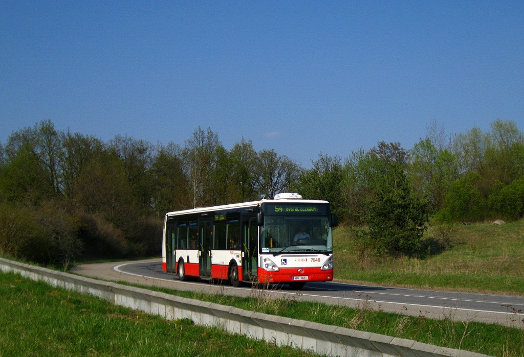 Fotogalerie » Irisbus Citelis 12M 4B5 9662 7648   Brno   Žebětín   Hostislavova