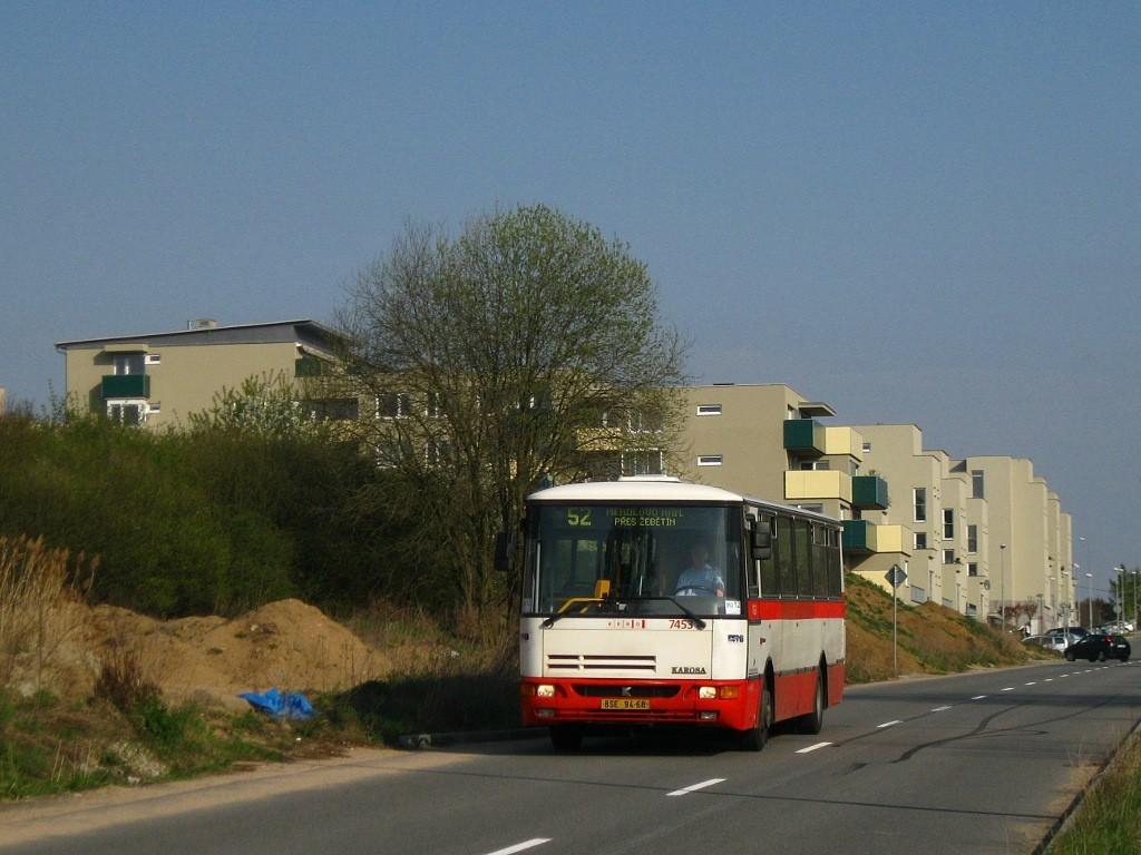Fotogalerie » Karosa B931E.1707 BSE 94-68 7453 | Brno | Bystrc | Kamechy