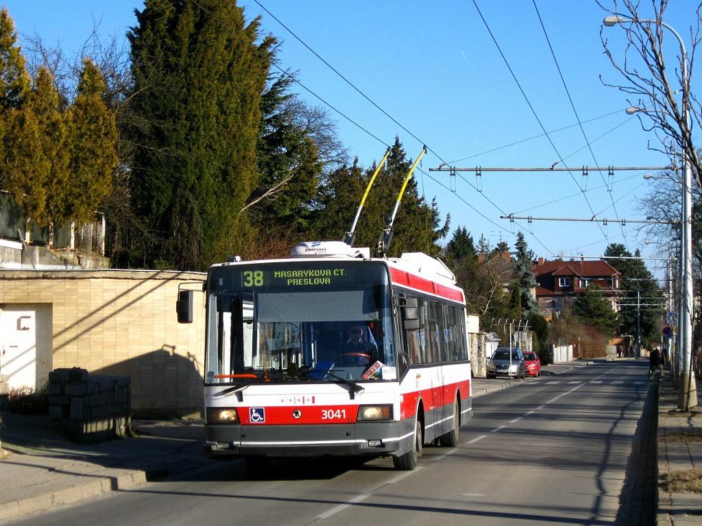 Fotogalerie » Škoda 21TrIGCT 3041 | Brno | Masarykova Čtvrť | Preslova