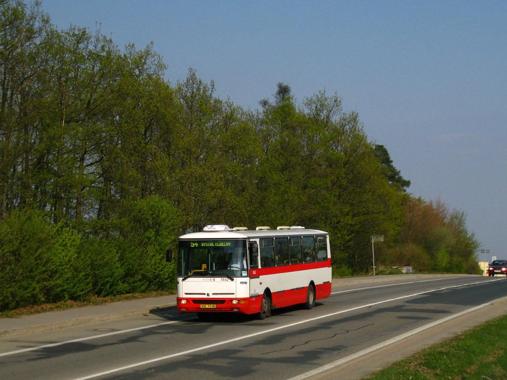 Fotogalerie » Karosa B931.1675 BSE 73-05 7442 | Brno | Žebětín | Hostislavova