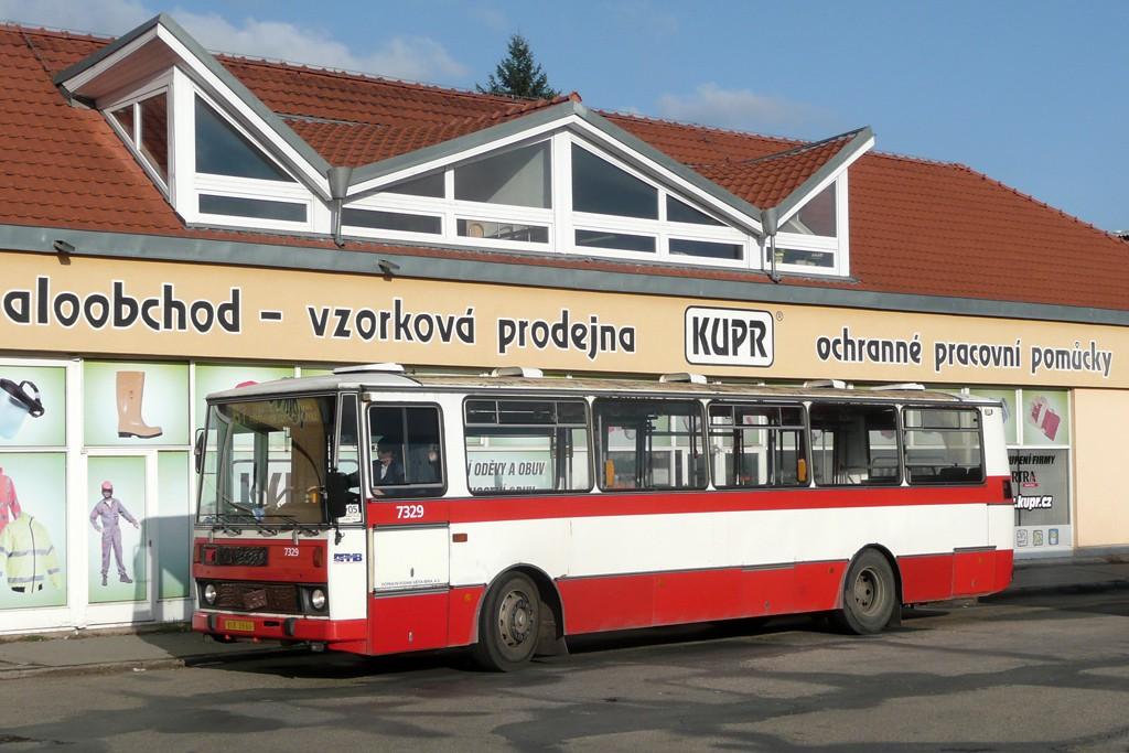 Fotogalerie » Karosa B732.1654 BSB 95-66 7329 | Brno | Jundrov | Lelkova | Jundrov
