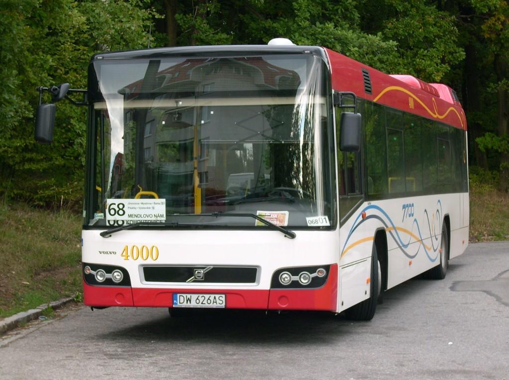 Fotogalerie » Volvo Volvo 7700 DW 626AS 2707 | Brno | Kohoutovice | Žebětínská | Kohoutovice, hájenka, smyčka