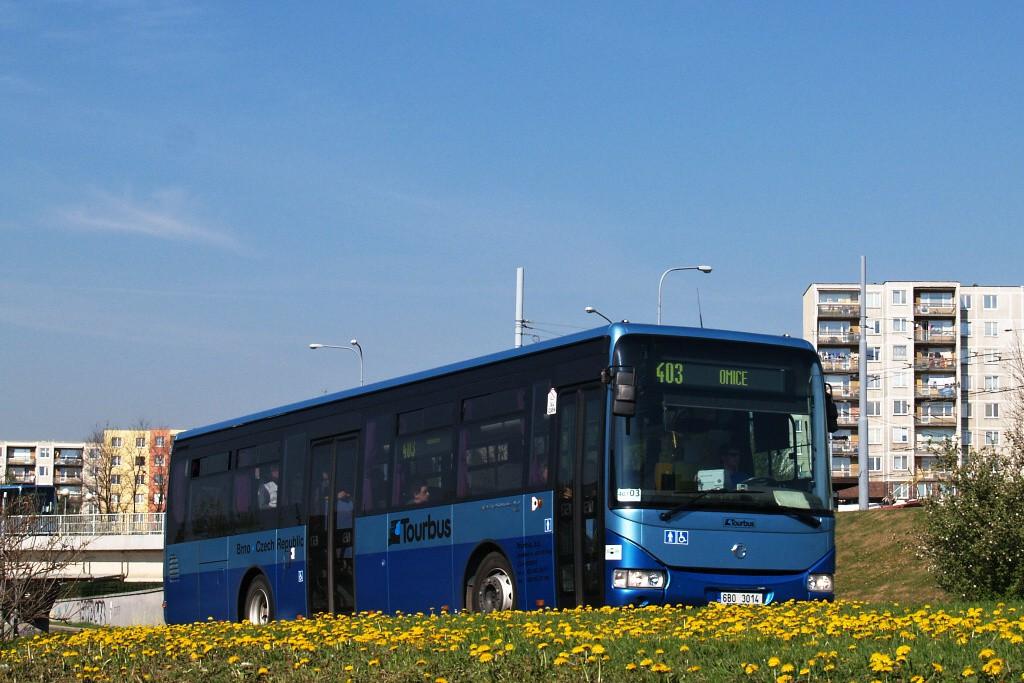 Fotogalerie » Irisbus Crossway LE 12M 6B0 3014 | Brno | Starý Lískovec | Osová