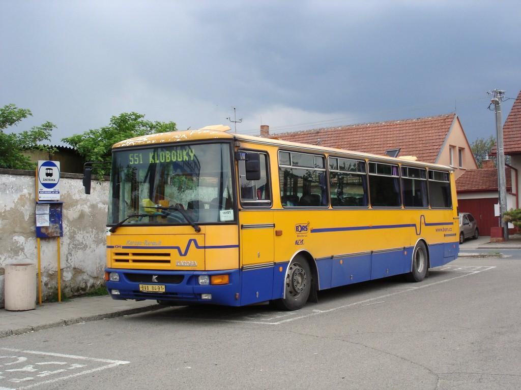 Fotogalerie » Karosa C934.1351 BVA 84-91 | Velké Pavlovice