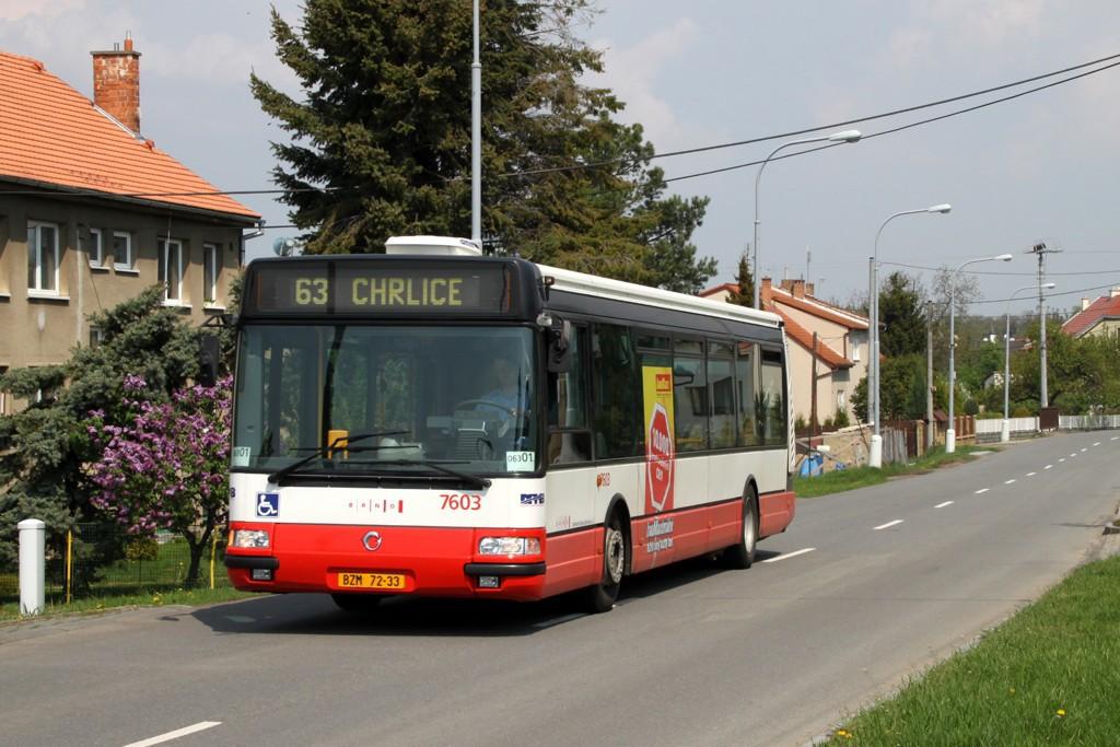 Fotogalerie » Irisbus Citybus 12M 2071.20 BZM 72-33 7603 | Brno | Chrlice | Rebešovická | Chrlice, smyčka