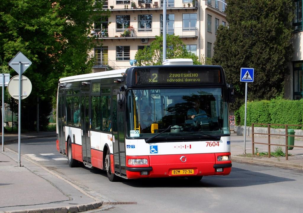 Fotogalerie » Irisbus Citybus 12M 2071.20 BZM 72-34 7604 | Brno | Židenice | Šámalova