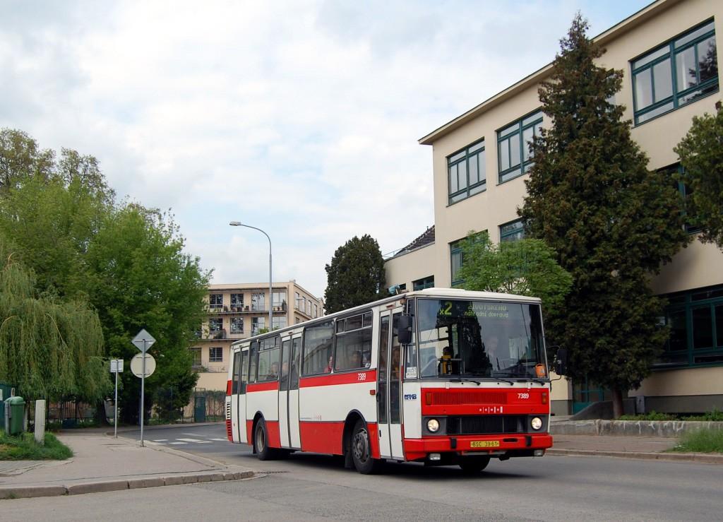 Fotogalerie » Karosa B732.1654.3 BSC 39-61 7389 | Brno | Židenice | Šámalova
