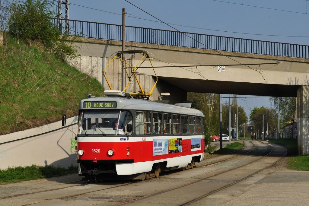 Fotogalerie » ČKD Tatra T3P 1620 | Brno | Židenice | Nezamyslova