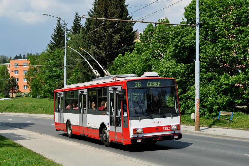 Fotogalerie » Škoda 14Tr17/6M 3282   Brno   Žabovřesky   Korejská