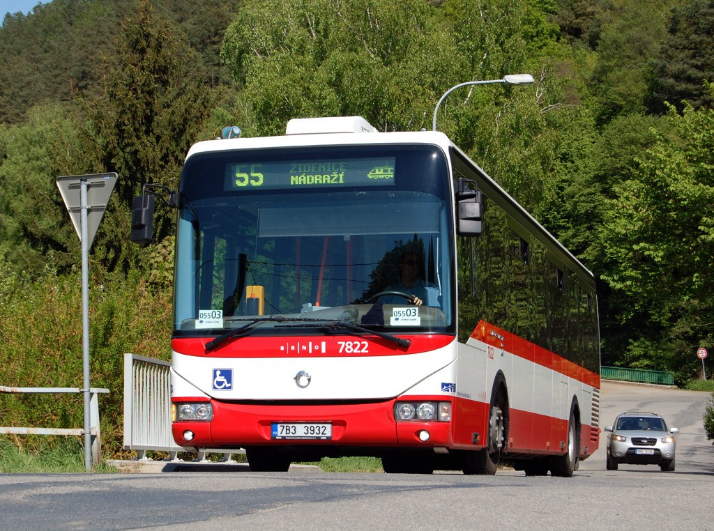 Fotogalerie » Irisbus Crossway LE 12M 7B3 3932 7822 | Brno | Líšeň | Ondráčkova