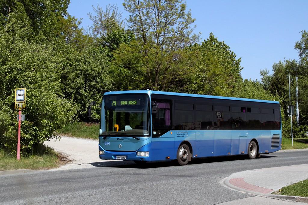 Fotogalerie » Irisbus Crossway LE 12M 6B9 0982 | Brno | Starý Lískovec | Labská | Pod Nemocnicí