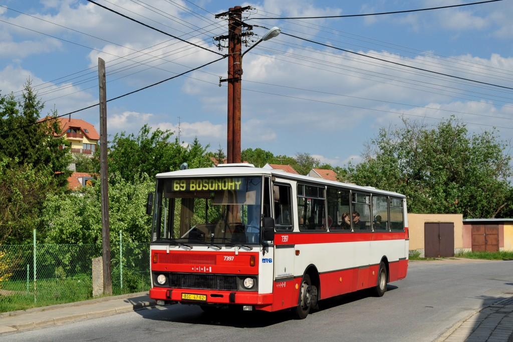 Fotogalerie » Karosa B732.1654.3 BSC 47-62 7397   Brno   Bosonohy   Hoštická