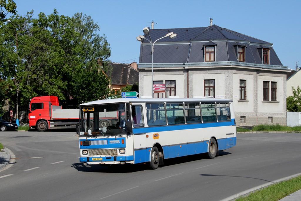 Fotogalerie » Karosa C734.1340 BVA 79-94 | Břeclav | Bratislavská | před železničním podjezdem