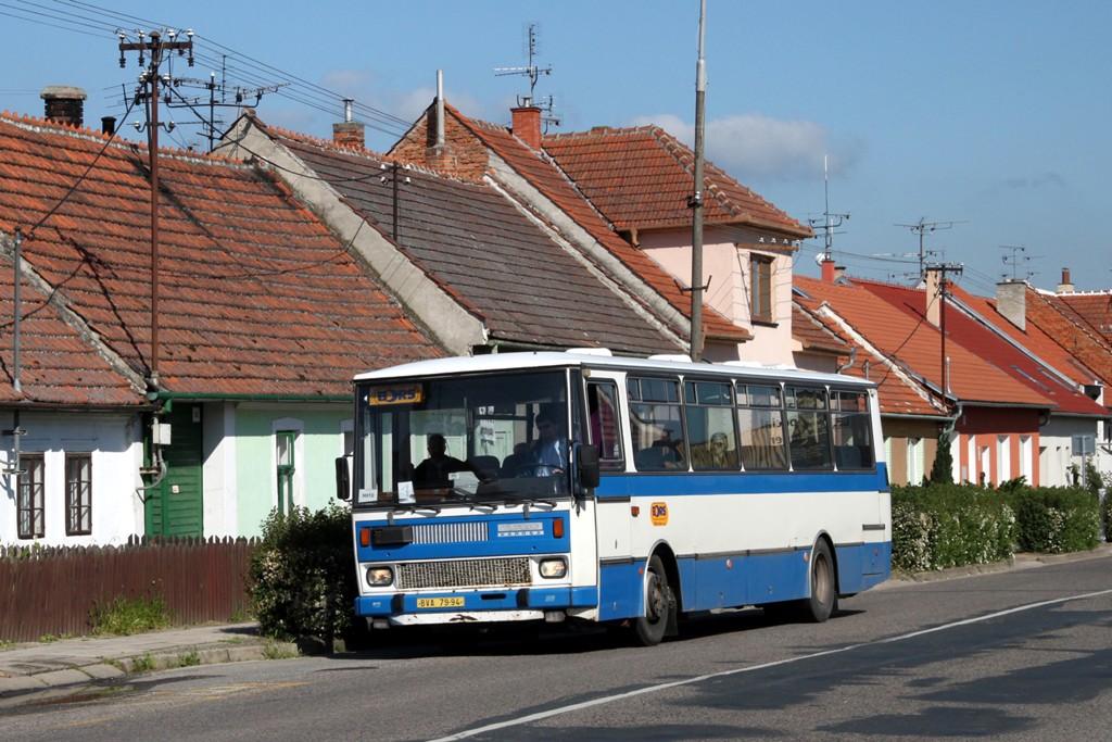 Fotogalerie » Karosa C734.1340 BVA 79-94 | Břeclav | Charvatská Nová Ves | Lednická | Lednická