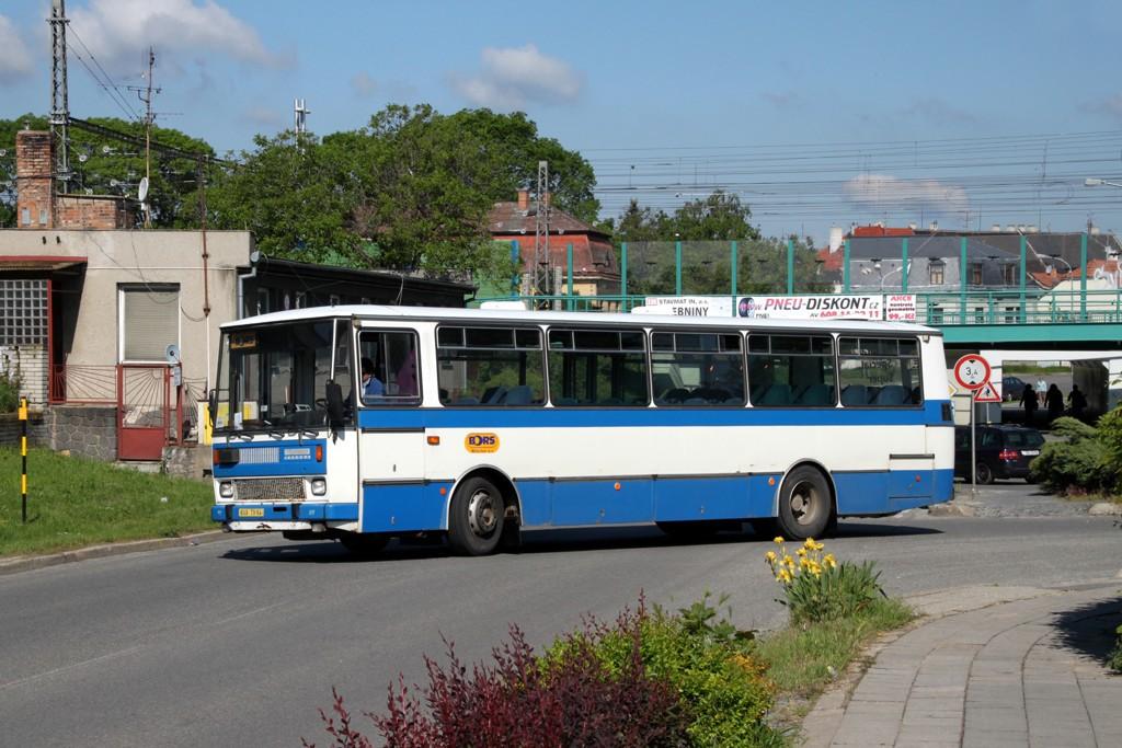 Fotogalerie » Karosa C734.1340 BVA 79-94 | Břeclav | Bratislavská | výjezd od Gumotexu