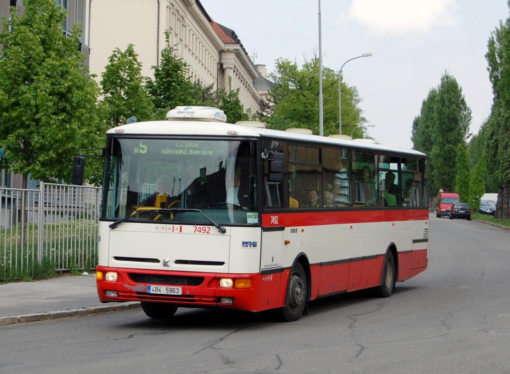 Fotogalerie » Karosa B951E.1713 4B4 5963 7492 | Brno | Černá Pole | Černopolní