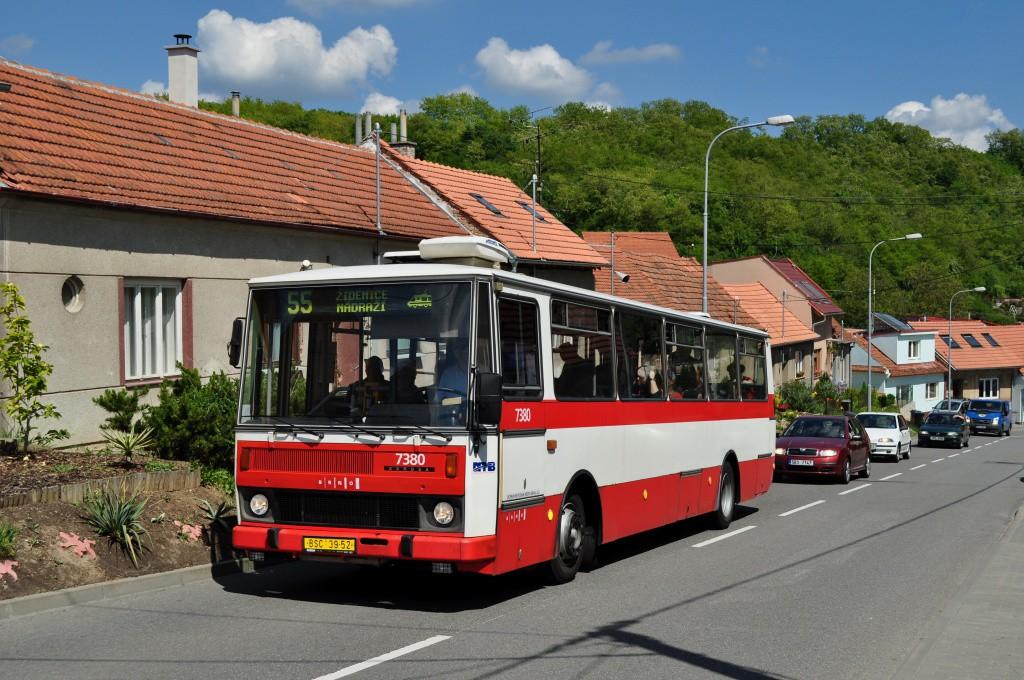 Fotogalerie » Karosa B732.1654.3 BSC 39-52 7380 | Brno | Líšeň | Ondráčkova