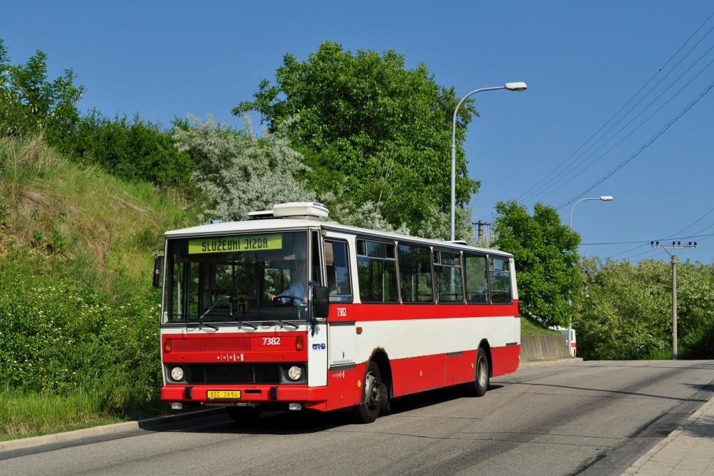 Fotogalerie » Karosa B732.1654.3 BSC 39-54 7382 | Brno | Maloměřice | Hády