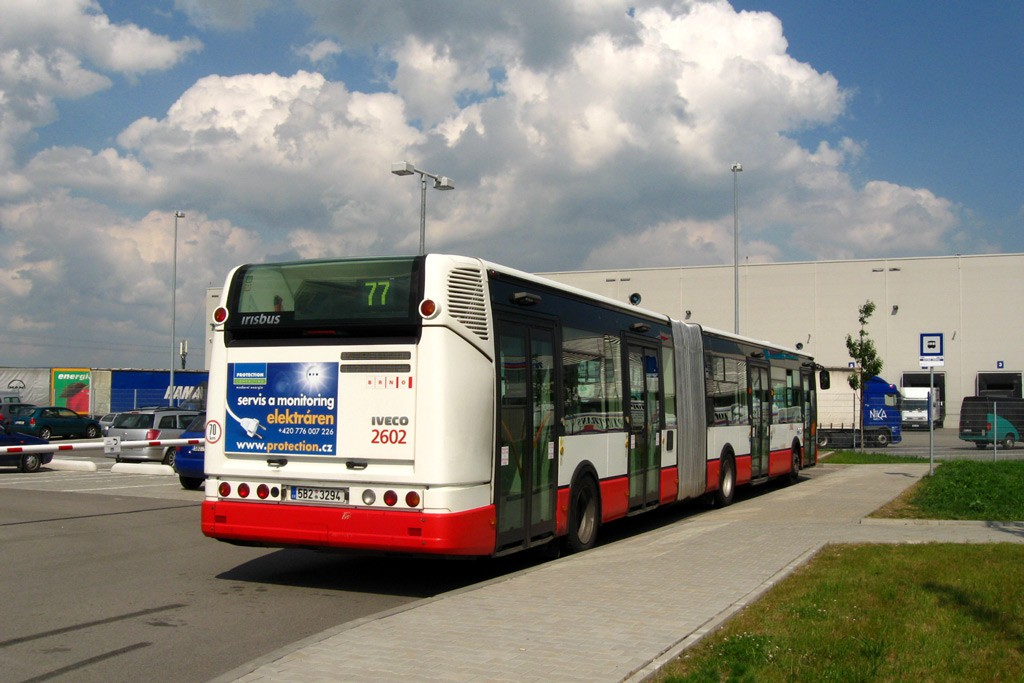Fotogalerie » Irisbus Citelis 18M 5B2 3294 2602   Šlapanice   Evropská