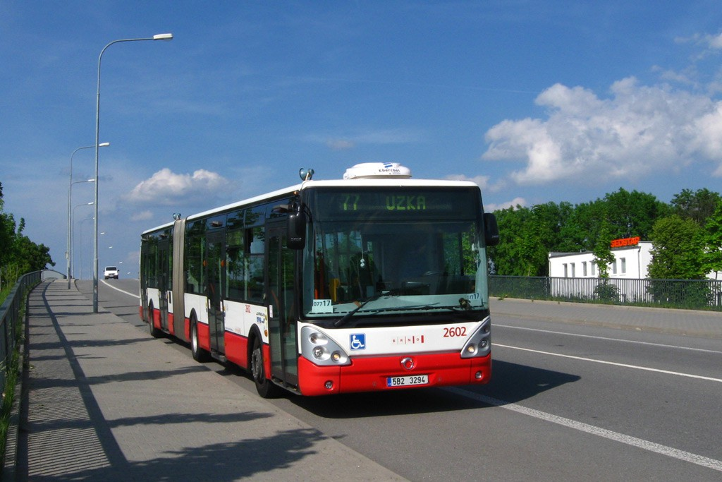 Fotogalerie » Irisbus Citelis 18M 5B2 3294 2602 | Brno | Slatina | Tuřanka | Slatina, závod