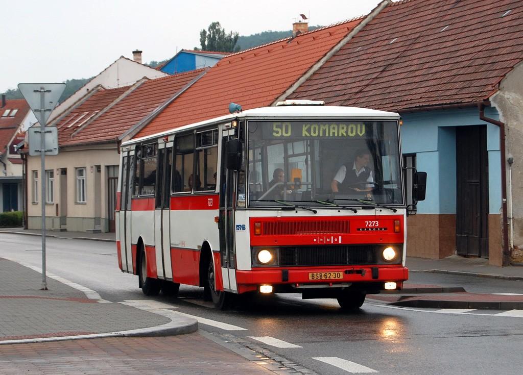 Fotogalerie » Karosa B732.40 BSB 62-30 7273 | Brno | Bystrc | náměstí 28. dubna